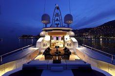 Yacht - top deck