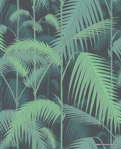 Papel Pintado Cole & Son  Palm Jungle 95/1003 . Disponible online en Modacasa.es