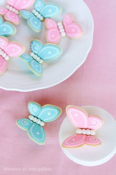 Butterflies (3D cookies)