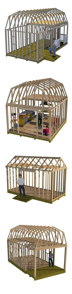 I make framing a shed easy with these detailed on line building guides and shed plans for building storage sheds, tiny houses, shed homes, workshops, garden sheds, small cabins, chicken coops and playhouses.
