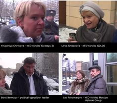 Russian Opposition Caught Filing into US Embassy in Moscow