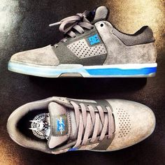 Chris Cole • Cole Lite 2 • Coming April 2014 • Skate • Fashion • Trendy • Shoes • Grip • DC Shoes USA • Turquoise • White • Grey • Suede • New Model • Pro Skate
