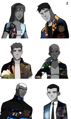 Young Justice / So cool! Also can we talk about how Dick looks like a little baby compared to the rest of them.