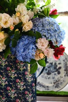 Flower Centerpieces, Flower Vases, Flowers, Memorial Day, Red And White, Floral Wreath, Bloom, Wreaths, Fruit