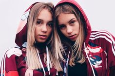 """Lisa and Lena ♡ You guys might be thinking why did add this to my board. It's because these to amazing girls have a clothing brand called """"Compose"""""""