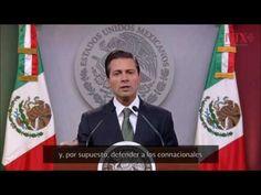 Unidad nacional, activo para acciones dentro y fuera del país: Peña Nieto