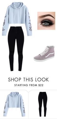 """Untitled #297"" by mayalovescoffee on Polyvore featuring Vans and ASAP"
