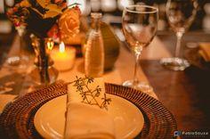 Mesa posta casamento bucólico