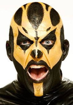 The man behind the paint: Inside the bizarre career of Goldust Wwf Superstars, Wrestling Superstars, Wrestling Wwe, Wwe Goldust, Prosthetic Makeup, Wwe Pictures, Big Show, Wwe Wrestlers, Professional Wrestling