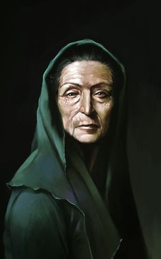 f Rogue Assassin retired urban portrait Kathrine Dorn - former agent of the officio assasinorum