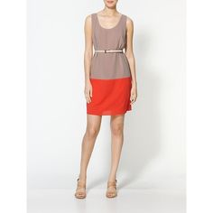 Ark & Co. Colorblock Dress found on Polyvore
