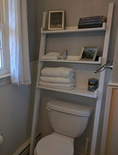 Leaning Bathroom Shelf | Do It Yourself Home Projects from Ana White