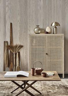 A Scandinavian home with lots of texture / Una casa estilo escandinavo con mucha textura