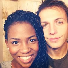 Image via We Heart It https://weheartit.com/entry/88730223/via/13972602 #blackandwhite #cutecouple #interracial #interracialcouple #hotcouple #bwwm #lovehasnocolor #habanatwist