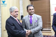 cranford college - Sardar Muhammad Yaqoob Khan , President of Azad Jummu and Kashmir visited Cranford College-9