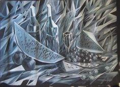 Cacos da natureza morta acrilic on canvas by Danillo Sena