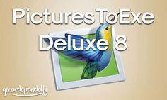 Aggiungete foto, clip video e musica per creare presentazioni professionali con PicturesToExe 8 in modo semplice e veloce.