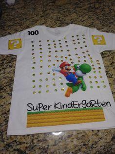 of School Shirt Source by Dj School, Make School, School Shirts, School Stuff, 100 Days Of School Project Kindergartens, 100 Day Of School Project, School Projects, 100days Of School Shirt, 100s Day