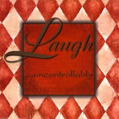 Laugh Uncontrollably Poster por Debbie DeWitt na AllPosters.com.br