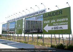 Conjunto de Vallas publicitarias instaladas en #Mataró por ANC Publicidad