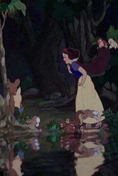 Snow White. this was one of the many great movies mom and I went to see!