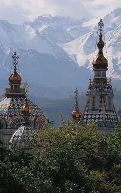 Zenkov Cathedral ~ Alma-Ata, Kazakhstan   Flickr - Photo by Akitoshi Iio