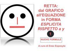 RETTA: dal GRAFICO all'EQUAZIONE in FORMA ESPLICITA RISPETTO a y - ES…