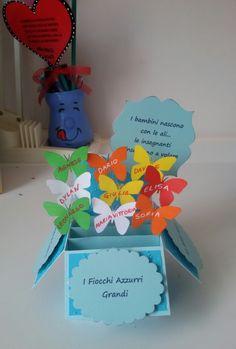 Card in a box # Teacher thank You card# Biglietto ringraziamento per la maestra