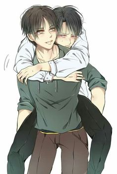 Yaoi, Fluff, AUs, and crossovers of Ereri pics [None of the images or pics belong to me! Attack On Titan Comic, Attack On Titan Ships, Attack On Titan Fanart, Eren E Levi, Armin, Mikasa, Lolis Anime, Anime Guys, Aot Gifs