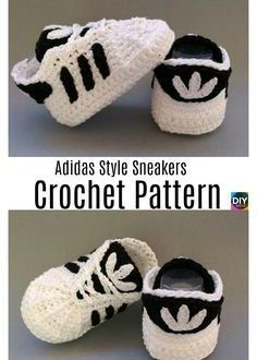 DIY4ever häkeln Adidas Sneakers Pattern P3 - Häkeln Sie ...