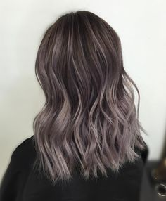 Hair Ash Brown Balayage On Asian Asian Ombre Hair, Blonde Asian Hair, Hair Color Asian, Hair Color And Cut, Ash Blonde, Platinum Blonde, Ash Brown Hair Balayage, Balayage Asian Hair, Soft Balayage