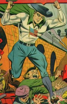 Fighting Yank, Nedor Comics