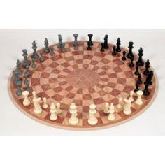 3 Person chess. Cool!