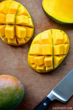 How to Cut a Mango #video #recipe