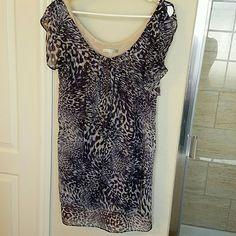 Neimun Marcus dress Bought from neimun marcus Very beautiful flare dress designer line size 4 Neiman Marcus Dresses Midi