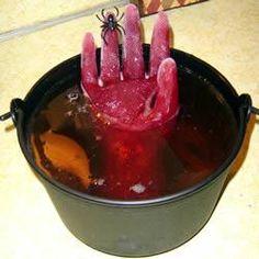 праздничный стол к Хэллоуину. Экстремальные вкусняшки.