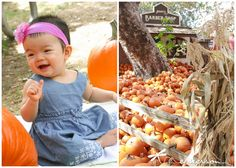 Left On Emerson Photography | Pumpkin Patch 1st Birthday