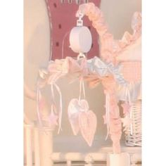 Brandee Danielle Princess Pink Musical Crib Mobile - 96MBPNK
