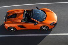 open-top McLaren 650s spider features two-piece retractable hard roof