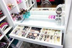 Organização + Decor: Tour pelo closet | Vanessa Wonsovicz | Moda | Make Up |Resenhas de Produtos | Fitness
