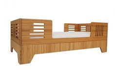 bamboo toddler bed. Do they make this in big people size?