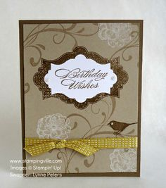 stampin up caard ideas | Stampingville: Handstamped Cards by Stampin' Up! Demonstrators
