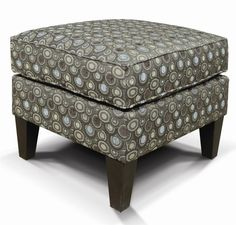 Really sweet pattern on this #ottoman!