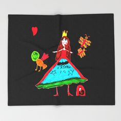 Witch Of Love Throw Blanket by azima Throw Blankets, Witch, Snoopy, Love, Disney Princess, Disney Characters, Art, Amor, Art Background