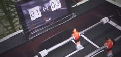 Un marcador electrónico para futbolín con Arduino Mega #arduino #diy