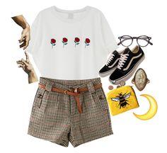 """""""Sin título #151"""" by starscounter394 on Polyvore featuring moda, Vans y Moscot"""