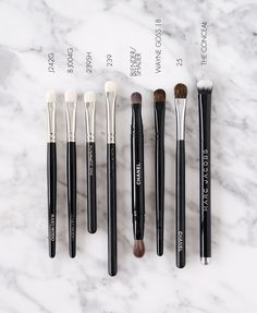 Eye Makeup Brushes Lids and Wash | The Beauty Look Book