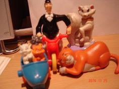 McDonalds Disney's The Aristocats Happy Meal Toys x 4 1994 Complete Set | eBay