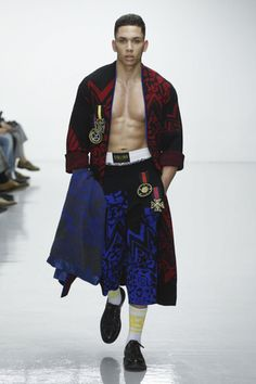 All photos of the SIBLING Menswear collection Fall Winter 2016  Read our article about the SIBLING Menswear collection Fall Winter 2016 here