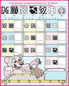 ilkokul ödevleri: 2. sınıf sembollerle çıkarma süper